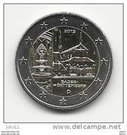2 Euro, 2013, Baden-Württemberg, Prägestätte (J), Vz, Gut Erhaltene Umlaufmünze - Germania