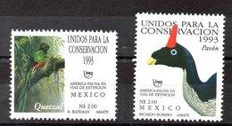 Serie De Mexico N ºYvert 1496/97 ** PAJAROS (BIRDS) - Mexico