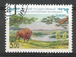 Russland 1999  Mi.Nr. 722 , EUROPA CEPT  Natur- Und Nationalparks -  Gestempelt / Fine Used / (o) - Europa-CEPT