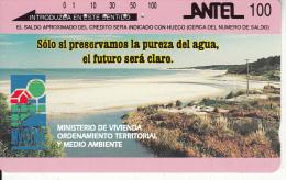 URUGUAY(Tamura) - Pureza Del Agua, 11/95, Used - Landschaften