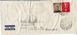 BM585 Egypt/Ägypten UAR Long Envelope Air Mail, Alexandria - Vienna/Wien, 1963 - Egypt