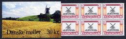 DENMARK 1988 Mills 30 Kr. Booklet S8 MNH / **.  Michel 960 MH - Carnets