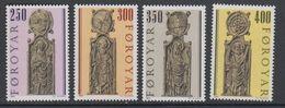 Faroe Islands 1984 Olafkirche Kirkjubour 4v ** Mnh (42807A) - Faeroër