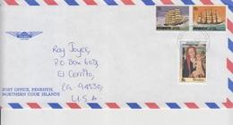 Penrhyn Island Official Mail Cover   (A-3252) - Penrhyn