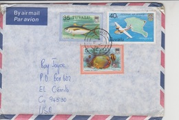 Tuvalu Island Official Mail Cover   (A-3262) - Tuvalu