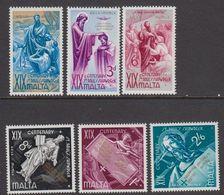 Malta 1960 Hl. Paulus 6v ** Mnh (42808) - Malta
