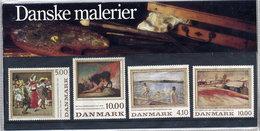 DENMARK 1984/1988 Paintings Composite Presentation Pack MNH / **.  Michel 819-20, 932-33 - Danimarca