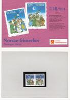Norway Norge 1991 Christmas Mi 1082-1083 MNH(**) In Folder - Norvège