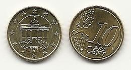 10 Cent, 2018,  Prägestätte (G),  Vz, Sehr Gut Erhaltene Umlaufmünzen - Germania