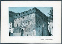 °°° Cartolina N. 24 Venafro (stampina) Torre Mediovale Nuova °°° - Isernia