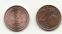 2 Cent, 2018, Prägestätte (D) Vz, Sehr Gut Erhaltene Umlaufmünze - Germania