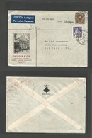 Switzerland - XX. 1940 (5 Jan) Zurich - USA, NYC. Air Via Clipper Multifkd Envelope Incl 2fr Stamp. Fine. - Switzerland