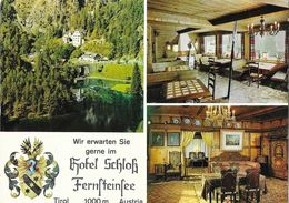 Hotel Schloss Fernsteinsee - Nassbereich In Tyrol (Austria, Autriche) - Multivues - Carte Non Circulée - Hotels & Restaurants