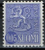 PIA -  FINLANDIA -  1963-72  : Posta Ordinaria - Leone Rampante - Nuova Moneta  -  (Yv 532A IB ) - Finlandia
