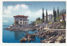 Ičići Icici Blick Von Dem Neuen Strandweg Old Unused Postcard B190520 - Cyprus