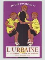 "Buvard "" L'Urbaine "" ( Tache, Pliure, 20 X 13,5 Cm ) - Café & Thé"