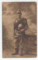 Austrohungarian Soldier Old Photo (Foto A. Brauner, Zagreb) B190520 - Krieg, Militär