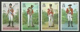 Montserrat 1978 Mi 393-396 MNH ( ZS2 MNT393-396dav105 ) - Militaria