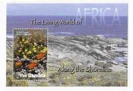 Gambia 2005 African Flowers Living World S/S MNH - Gambie (1965-...)
