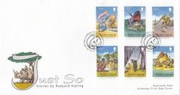 GOOD ALDERNEY FDC 2007 - Kipling / Just So - Alderney
