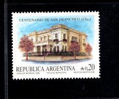 771295121 1986 SCOTT 1571 POSTFRIS  MINT NEVER HINGED EINWANDFREI  (XX) -  SAN FRANCISCO CORDOBA CENT - Neufs