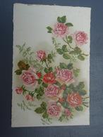 Cpa Bouquet De Roses.  Bonne Fête. - Autres