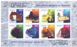 2018. Mountainous Karabakh, Minerals, Geological Museum Of Shoushi, Sheetlet,  Mint/** - Armenia