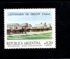 771296234 1986 SCOTT 1572 POSTFRIS  MINT NEVER HINGED EINWANDFREI  (XX) -  TRELEW CITY CHUBUT CENT - Neufs