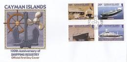 GOOD CAYMAN ISLANDS FDC 2004 - Shipping Registry - Cayman Islands