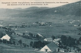 Isère : LANS : Vue Générale, Les Hameaux De Chenevaric Des Bernards , Des Jaumes ....( Cotés Recoupés ) - France