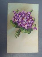 Cpa  Bouquet De Violettes - Autres