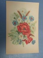 Cpa  Bouquet De Fleurs 1945 - Autres