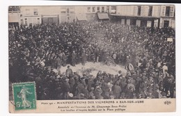 BAR SUR AUBE Manifestations Vignerons - Bar-sur-Aube