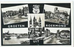 Roermond - Groeten Uit Roermond - Uitgave Gebr. Simons, Ubach Over Worms - 1955 - Roermond