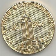 USA, New York, Empire State Building, The Statue Of Liberty, Cosimo 6.6.1971, Mist. Dorata Gr. 15, Cm. 3,1. - USA