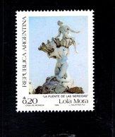 771299693 1986 SCOTT 1563 1564 POSTFRIS  MINT NEVER HINGED EINWANDFREI  (XX) -  STATUARY BUENOS AIRES - Neufs