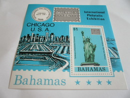 Miniature Sheet Perf International Philatelic Exhibition - Bahamas (1973-...)