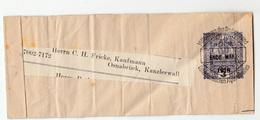 Austria Postal Stationery Newspaper Wraper Travelled 1918 To Osnabrück B190520 - Periódicos
