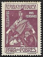 PORTUGAL  1915 -  Télégraphes  N° 1 - Surtaxe Pour Les Pauvres  - NEUF* - Télégraphes