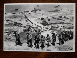 L8/96 Guerre 39/40 . Militaria. Débarquement Des Américains En Normandie. Reproduction - War, Military