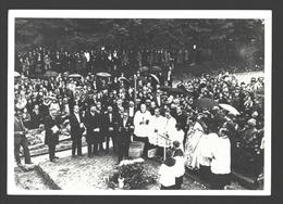 Banneux - Banneux 1933 - Cérémonie De La Pose De La Première..Chapelle Des Apparitions - Imp. J. Chauveheid - état Neuf - Sprimont