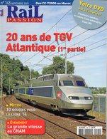 Revue RAIL PASSION N°145 TGV Atlantique, Métro Ligne 14, Marseille-Blancarde, Tram Nantes, Villennes Sur Seine, 230 D116 - Railway & Tramway