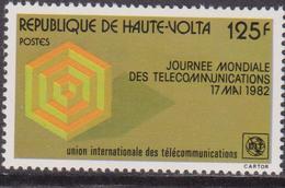 Upper VOLTA Alto Volta Telecomunications Set MNH - Telecom