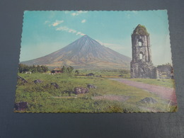 Cp The Ruins Of The Cagsawa Church With The Mayon Volcano PHILIPPINE. 1981 - Philippines
