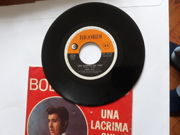 Bobby Solo  -  Una Lacrima Sul Viso.   Ricordi  SRL 10 338;   Anno 1965. - Soul - R&B