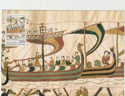 CARTE  MAXIMUM  FRANCE  N° Yvert  2867 (Tapisserie De BAYEUX) Obl Ord Bayeux (Ed Ville De Bayeux) - 1990-99