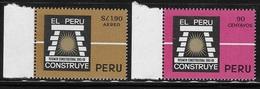 Peru 1967 6 Years Buidling Program MNH - Peru