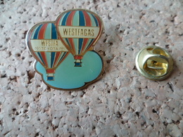PIN'S MONTGOLFIERE TOYOTA WESTFAGAS - Airships