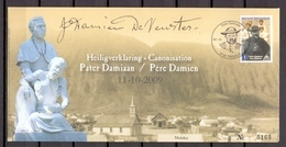3969 OMSLAG PATER DAMIAAN 2009 - Covers & Documents