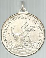 Roccaraso (Aq), Sacrario Caduti Senza Croce Scolta D'onore, Mist. Dorata Gr. 13, Cm. 3,2. - Italia